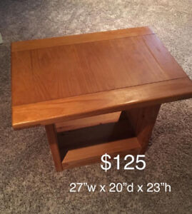 Crate Design End Tables