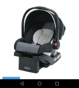 Graco car seat only used twice.