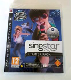 SINGSTAR: STARTER - PLAYSTATION 3. BRAND NEW!!!