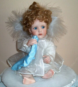 "PRICE REDUCED MOVING ---- ""Little Teardrop"" Porcelain Doll"