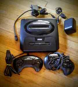 Sega Genesis Console Complete With 2 Controllers