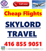 SKYLORD TRAVEL INC***Cheap Flights 2 India, Pakistan and WW