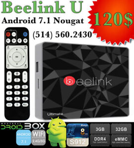 BEELINK GT1 ULTIMATE ANDROID TV BOX 7.1 S912 3GB RAM DDR4 32GB