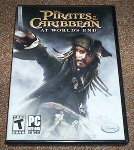 PIRATES OF THE CARIBBEAN AT WORLD'S END DVD-ROM 2007