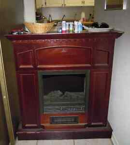 MOVING SALE - Electric Fireplace