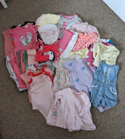 Bundle of girls clothing age 3-6 months
