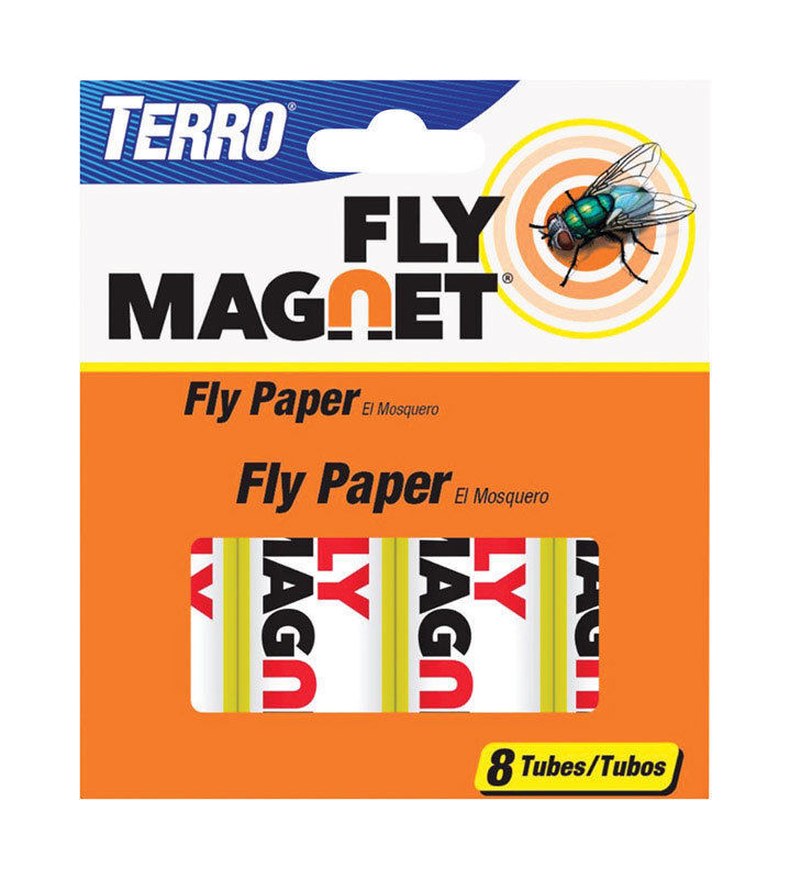 Victor Terro Insect Fly Catcher Sticky Paper Ribbon Mosquitoes Bugs Moth Home & Garden