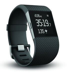 Fitbit Surge Fitness Tracker with GPS - Large - Black