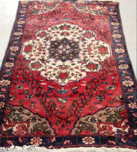 Semi-Antique Persian Rug, 6.5 x 4.1 ft,wool,Handknotted