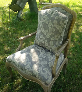 Newly done Large Bergere Chair