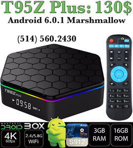 T95Z PLUS ANDROID SMART TV BOX 6 OCTACORE S912 3GB RAM 16GB ROM