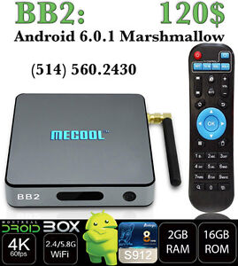 BB2 ANDROID SMART TV BOX 6.0.1 OCTACORE S912 2GB RAM 16GB ROM