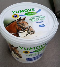 Yumove plus +, double strength for horses, 1.8kg, NEW