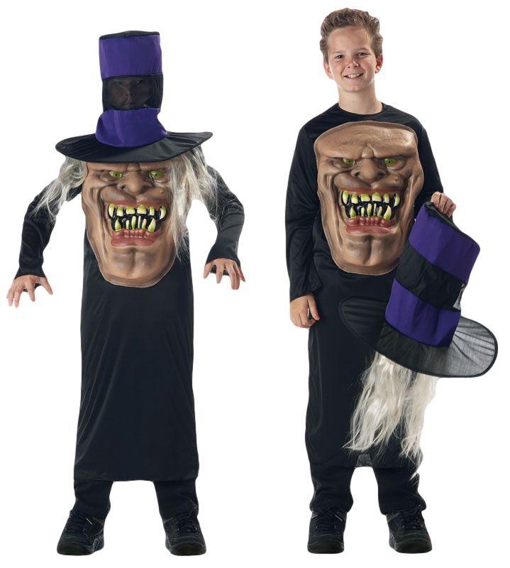 Jungen Schädel Pumpkin Piraten Vampir Verrückt Hut Halloween Kostüm ...