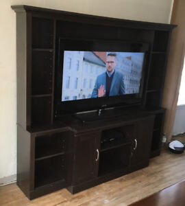 Entertainment Center for large flat screen TV