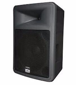 Peavey PR15 passive speakers (New Floor Models + Bonus Stands)