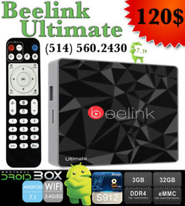 BEELINK GT1 ULTIMATE ANDROID TV BOX 7.1 3GB RAM DDR4 32GB ROM