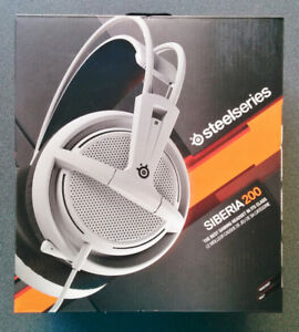 New and Sealed SteelSeries Siberia 200 Gaming Headset (51132)