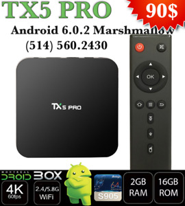 TX5 PRO ANDROID TV BOX 7.1 QUADCORE S905X 2GB RAM 16GB ROM