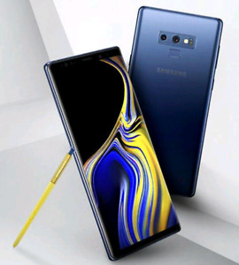 Unlocked Galaxy Note 9 (128GB, Midnught Blue) trade for iPhone