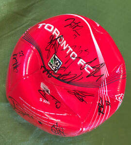 2012 Adidas Signed TFC soccer ball