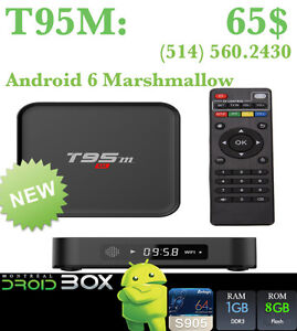 T95M ANDROID SMART TV BOX QUADCORE S905X 1GB RAM 8GB ROM