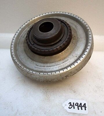 Jacobs Spindle Nose Lathe Chuck D1-6 Spindle Mount Inv.31944