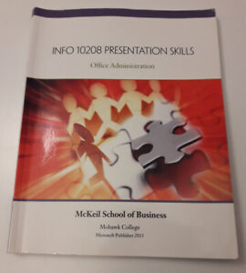 Office Admin Presentation Skills Publisher Textbook
