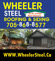 Wheeler Steel - Roofing, Siding Eaves