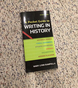 A Pocket Guide to Writing History by Rampolla