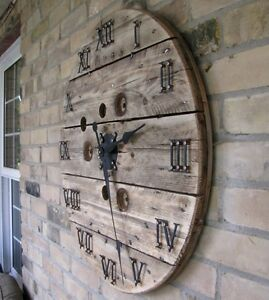 Cable Spool Clocks Kitchener / Waterloo Kitchener Area image 2