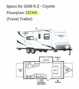2006 Travel Trailer Coyote 23CMS