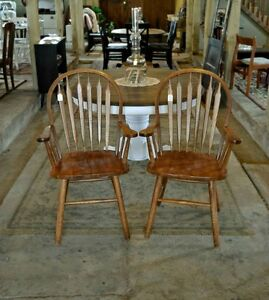 Arrowback Arm Chairs