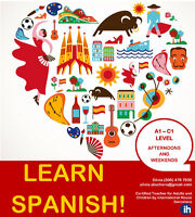 Would you like to learn SPANISH?