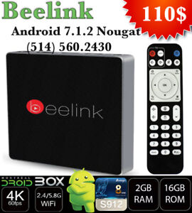 BEELINK GT1 ANDROID 7.1 OCTACORE S912 2GB RAM DDR3 16GB ROM