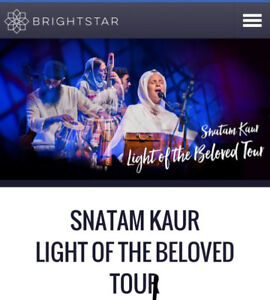 Snatnam Kaur tickets sat sept 29 730pm