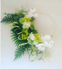 Flowered hoop