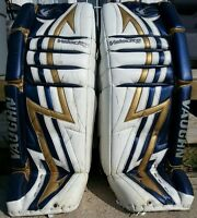 Goalie Pads and Gloves 34 inch