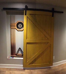 Custom Handcrafted Sliding Barn Doors, Hardware Soft Close