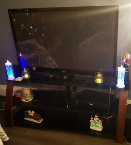 "50"" LG Plasma TV And Stand"