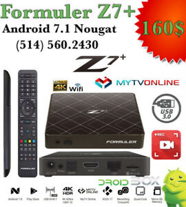 FORMULER Z7+ ANDROID TV BOX 7.1 HISILICON 2GB RAM DDR4 8GB ROM