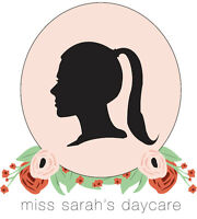 Miss. Sarah's Daycare (Licensed Daycare in Westshore)