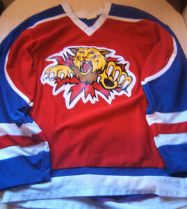 Moncton Wildcats Jersey Large
