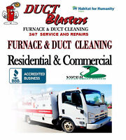 Professional Furnace & Duct Cleaning (HOME PACKAGES + MORE)