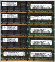 2GB 2Rx8 PC2-6400S 800MHz DDR2 SO-DIMM RAM Laptop Memory