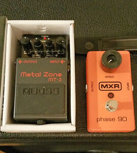 boss mt-2 and mxr phase 90