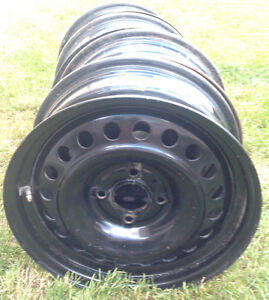 """15"""" wheels for Ford Focus, 4 bolt, set of 4, 4 X 108mm"""