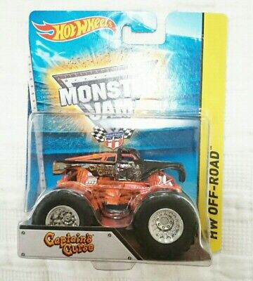 HOT WHEELS MONSTER JAM CAPTAIN