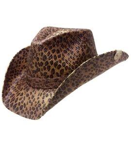 Leopard Rug Carpet Box Cowboy Hat