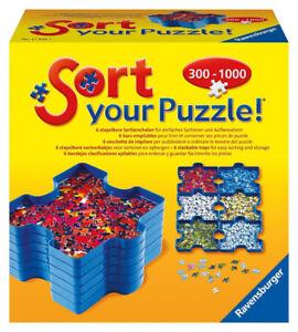 Puzzle organizer